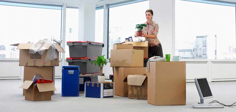 Office Relocation- Packers and Movers